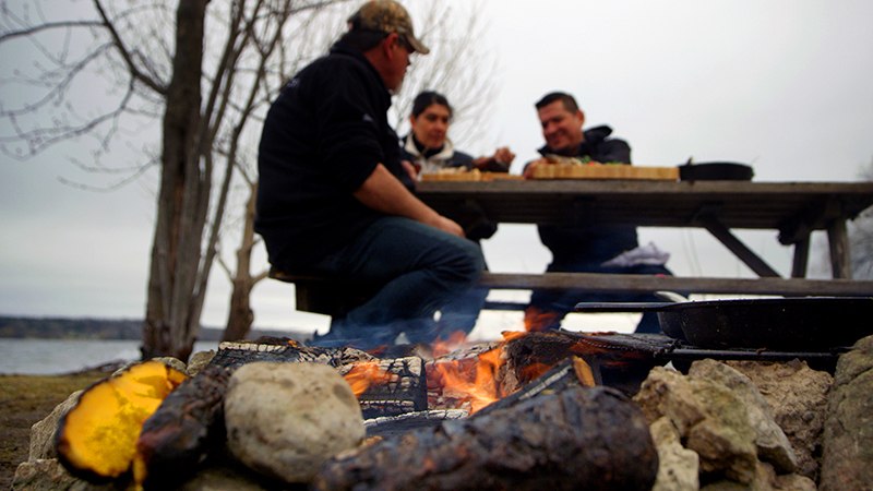Rich - Walleye Cooking Photo